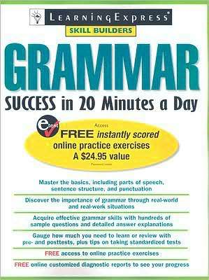Product picture Grammar Success in 20 Minutes a Day